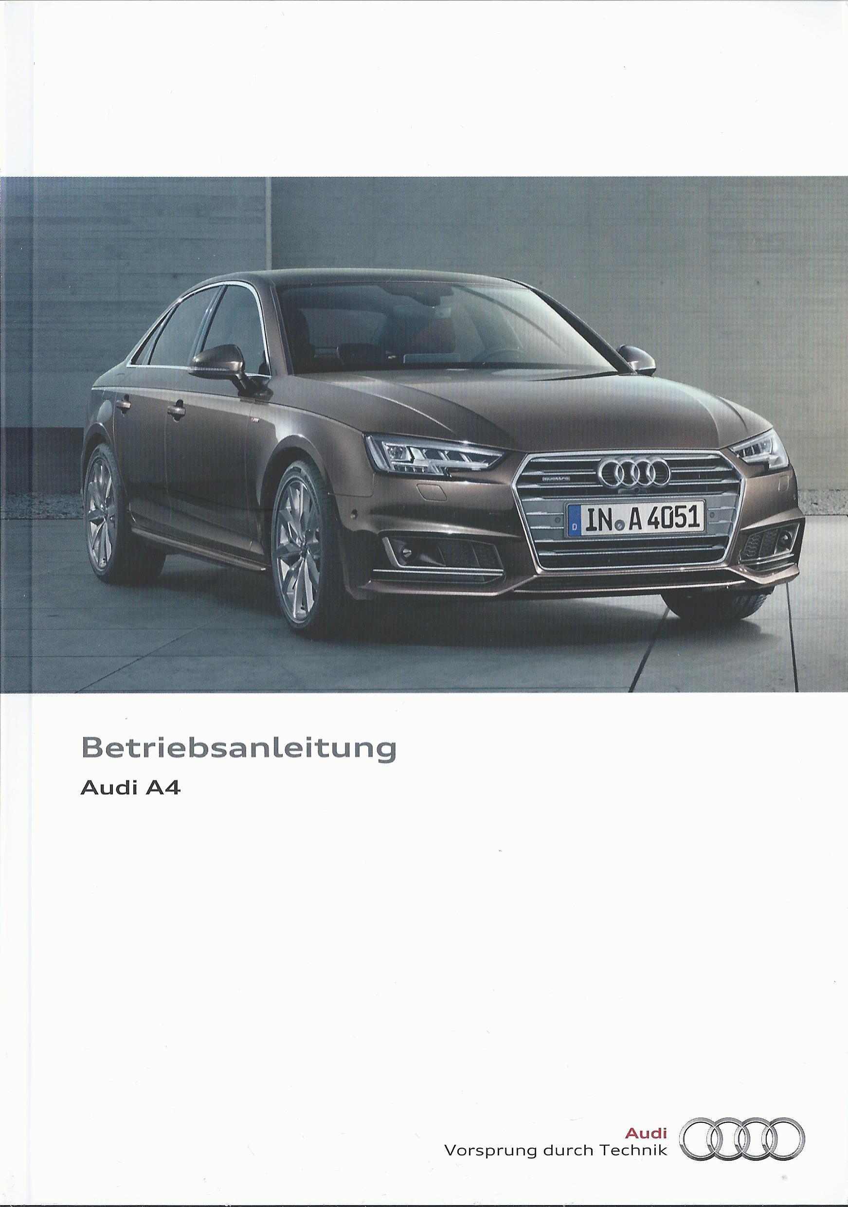 Handbuch Audi A4 B5 Avant