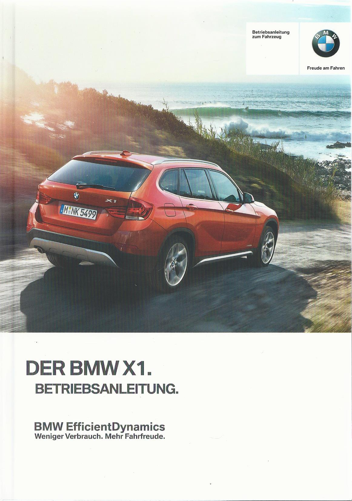 bmw x1 e84 betriebsanleitung 2014 2015 bedienungsanleitung handbuch bordbuch ba ebay. Black Bedroom Furniture Sets. Home Design Ideas