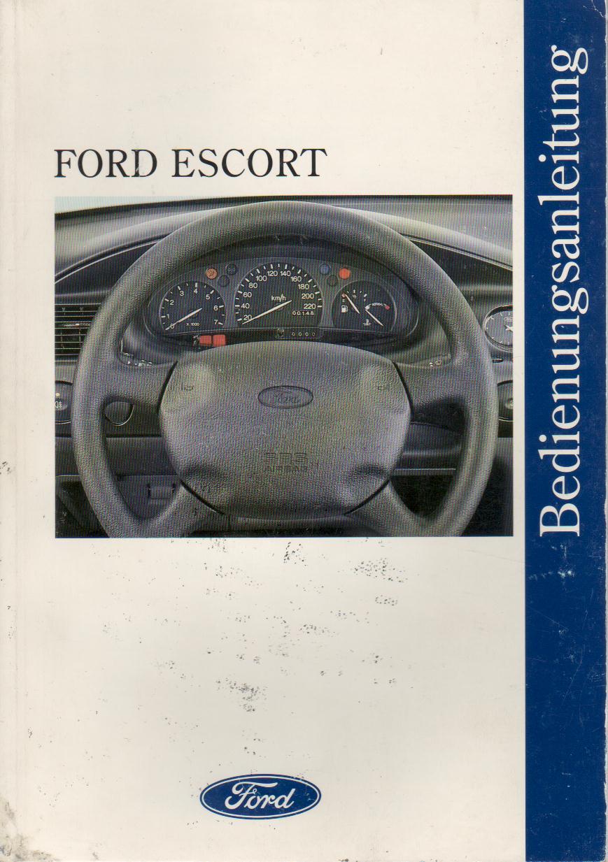 Handbuch für 1995 Ford Escort Wagon