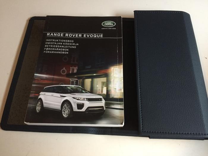 range rover evoque handbook pdf