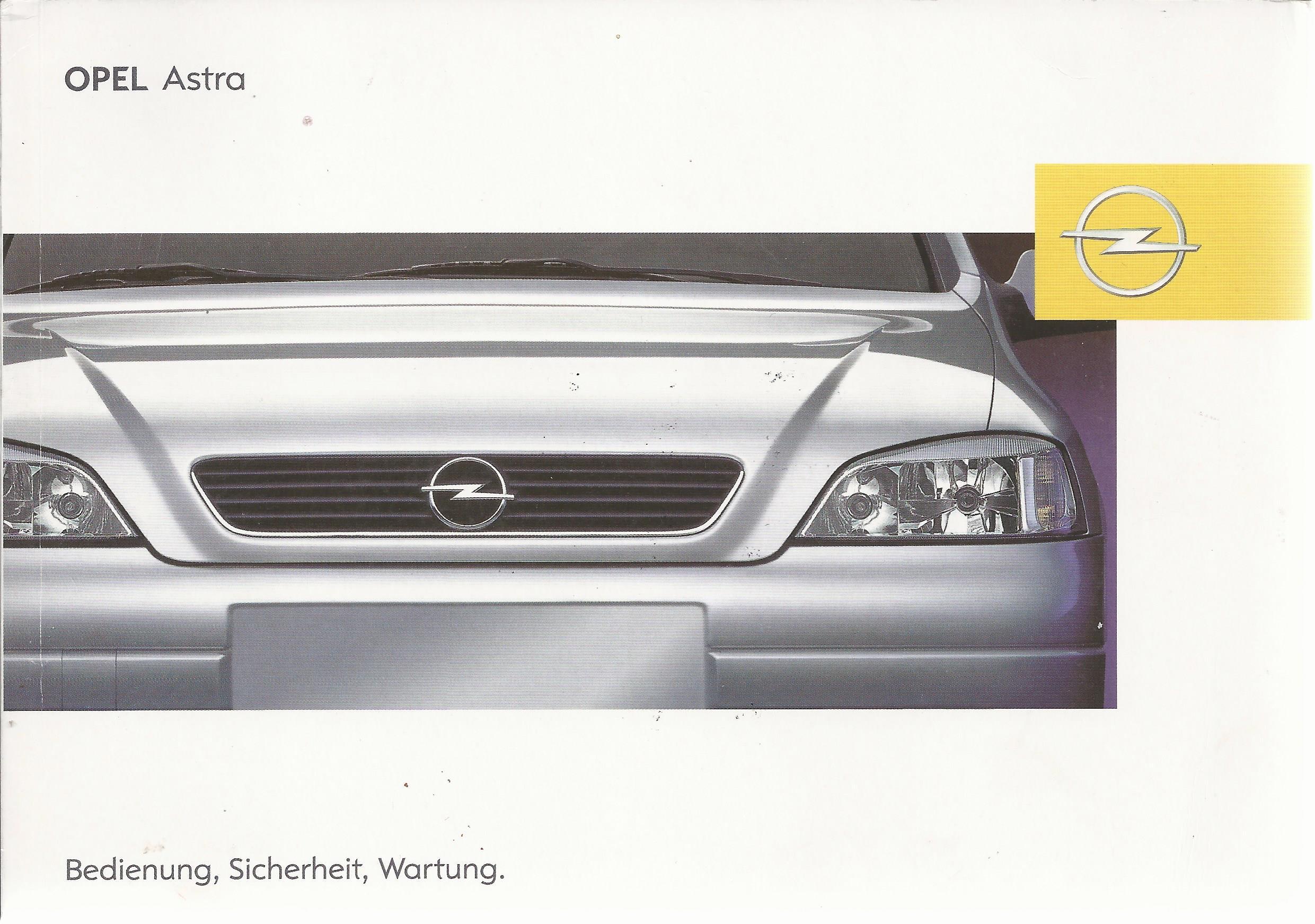 opel astra cabrio coupe g betriebsanleitung 2002 bedienungsanleitung ba ebay. Black Bedroom Furniture Sets. Home Design Ideas