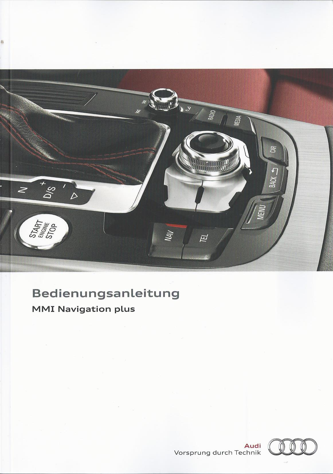 audi mmi navigation plus betriebsanleitung 2014 bedienungsanleitung 4mh rn ebay. Black Bedroom Furniture Sets. Home Design Ideas