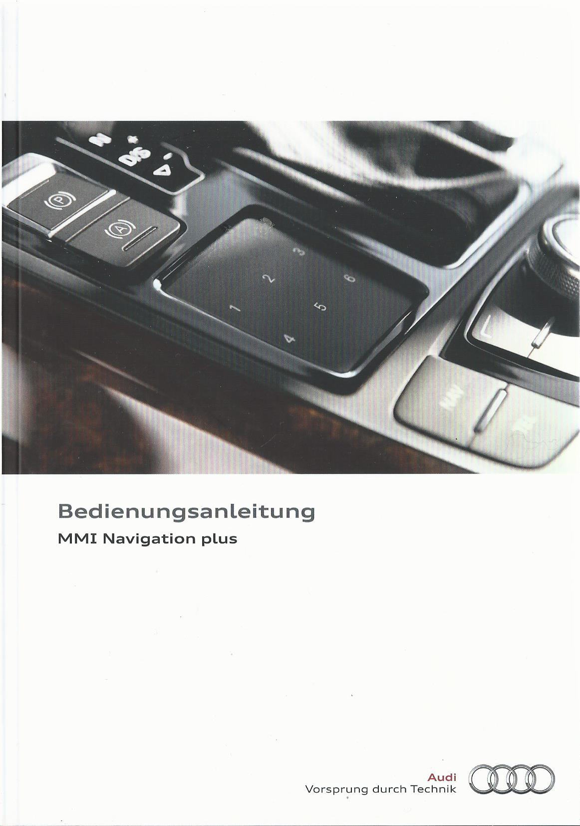 audi mmi navigation plus betriebsanleitung 2014 2015 bedienungsanleitung 6mh rn ebay. Black Bedroom Furniture Sets. Home Design Ideas