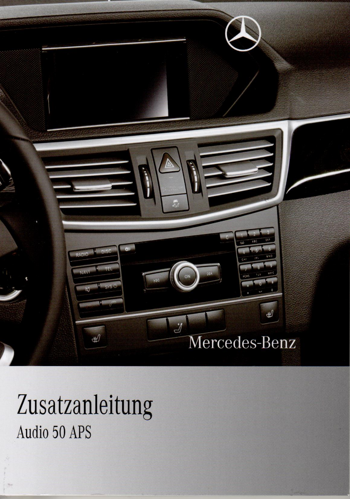 mercedes audio 50 aps betriebsanleitung 2010 bedienungsanleitung 212 handbuch rn. Black Bedroom Furniture Sets. Home Design Ideas