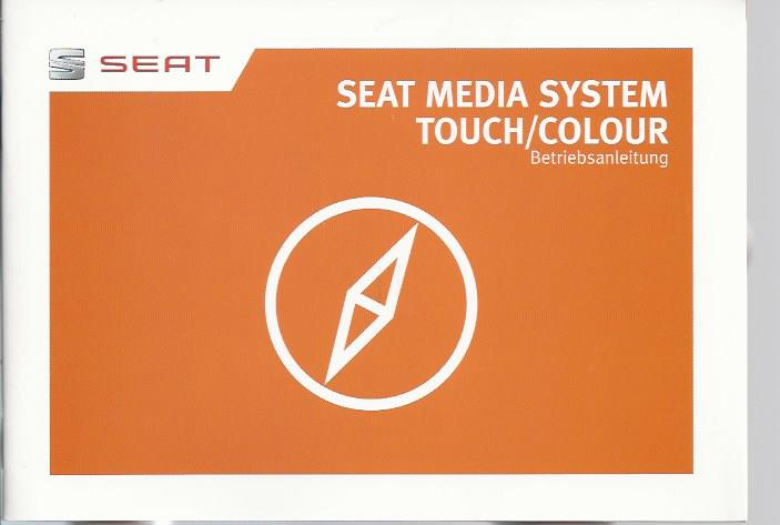 seat media system touch colour handbuch 2013 betriebsanleitung rn. Black Bedroom Furniture Sets. Home Design Ideas