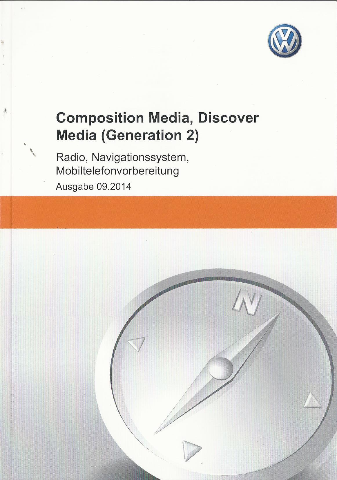 vw composition media discover media 2 gen 2014. Black Bedroom Furniture Sets. Home Design Ideas