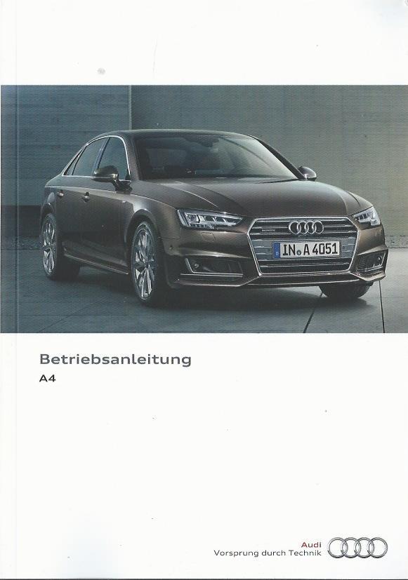 AUDI S4 Betriebsanleitung 1993 Bedienungsanleitung Handbuch Bordbuch BA