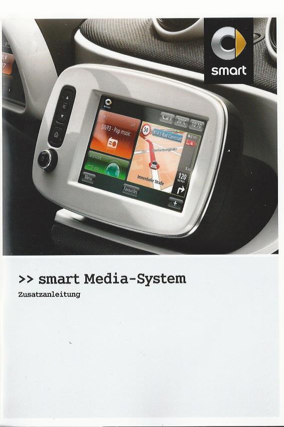 smart media system betriebsanleitung 2015 bedienungsanleitung 453 rn ebay. Black Bedroom Furniture Sets. Home Design Ideas